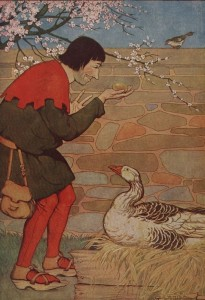 The Goose That Laid the Golden Eggs From ''The Æsop for Children'', by Æsop Project Gutenberg etext 19994 http://www.gutenberg.org/etext/19994 ==Used on== *w:en:The Goose That Laid the Golden Eggs ==License== {{PD-Gutenberg}